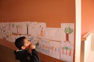 Première sensibilisation à l'école Melouya