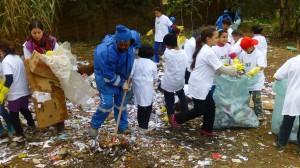 Action de nettoyage à Ibn Zaydoun