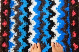 tapis pied